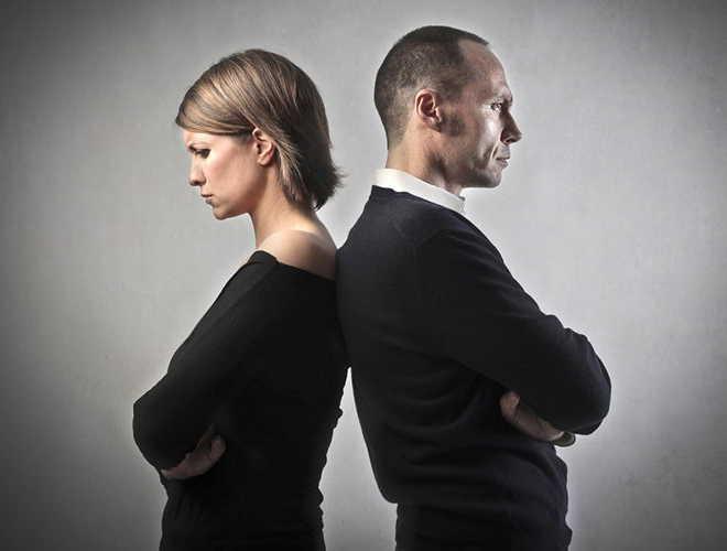 Отношения полной противоположности (неблагоприятные)